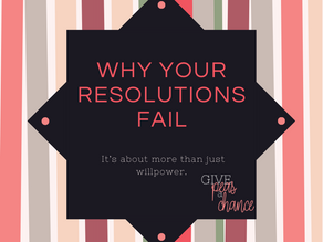 Three things you're doing wrong when it comes to New Years Resolutions.