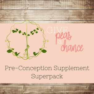 A quick breakdown on the Pre-Conception Supplement Superpack
