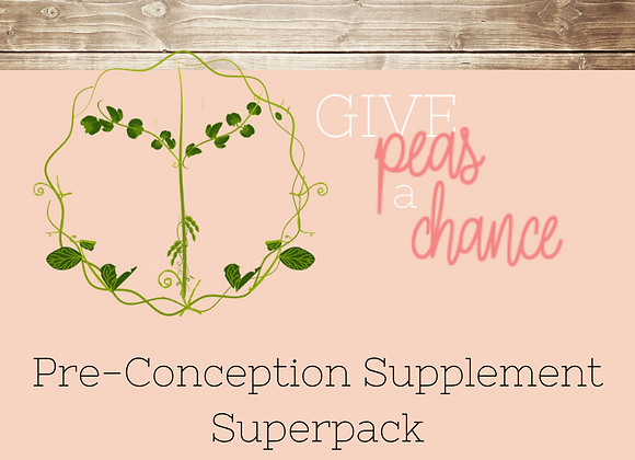 Pre-Conception Supplement Superpack