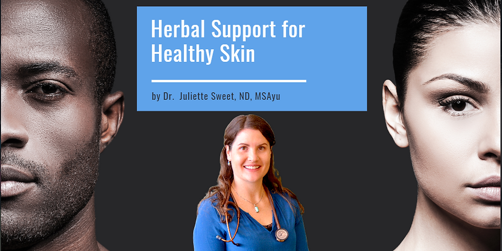 Herbal Support for Healthy Skin