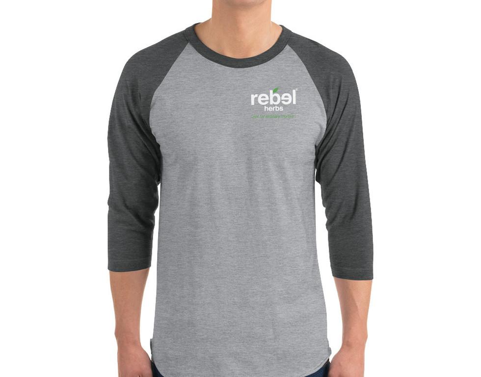 Rebel 3/4 sleeve Tee