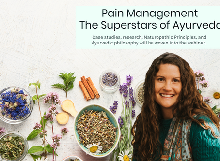 Pain Management: The Superstars of Ayurveda