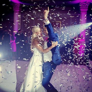 Sarah and Martin's first dance