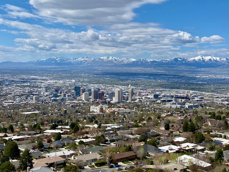 Earthquakes, pandemics, and cherry blossoms in Salt Lake City, Utah