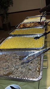 Macaroni and Cheese and Italian Beef