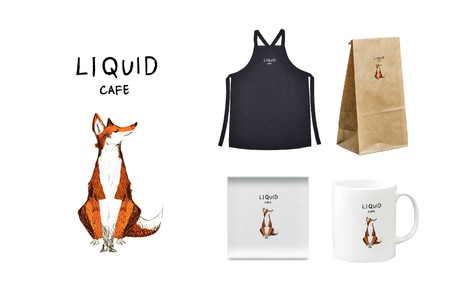 Logo/ LIQUID/Cafe