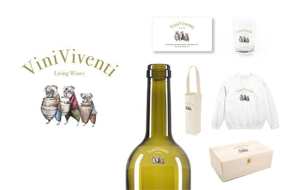 Logo/ ViniViventi/Wine import business