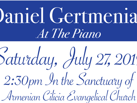 Join us for beautiful music, Sat. July 27