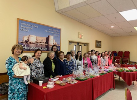 Bake Sale raises funds for youth and Dorcas Guild
