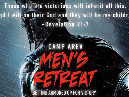 Camp AREV Men's Retreat: Oct.11-13