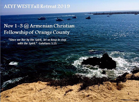 Save the Date: AEYF Youth Fall Retreat