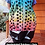 Thumbnail: Rainbow dots Equinox painting in a tunic- see measurements