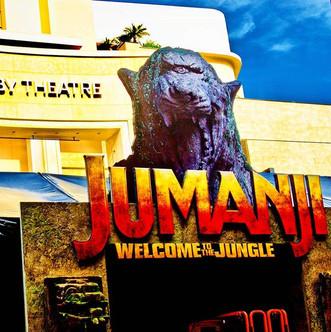 Jimanji Premiere! #hollywood #jumanji #p