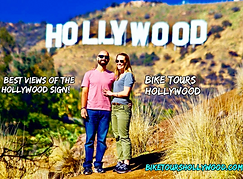 bike tours hollywood, hollywood sign bike tour, los angeles bike tours