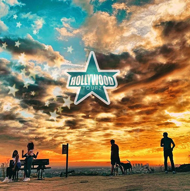 See Beautiful Sunsets on our Hollywood W