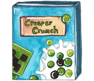 Minecraft Creeper Crunch Cereal