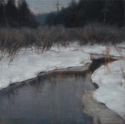 Le ruisseau silencieux 16 x 16
