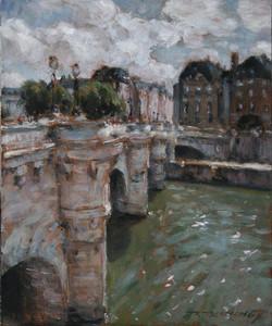 Le pont Neuf 10 x 8