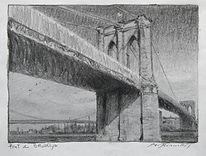Le pont de Brooklyne, 5x7