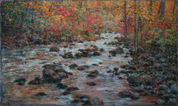 Ruisseau d'octobre 24x40