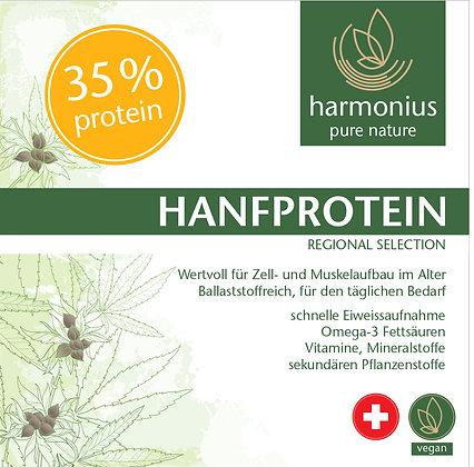 Hanfprotein 33% plus - ballaststoffreich - Schweiz IP 500 g
