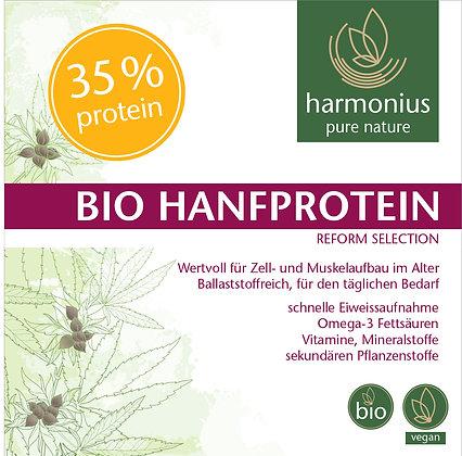 Hanfprotein 33% plus - ballaststoffreich - Bio 500 g