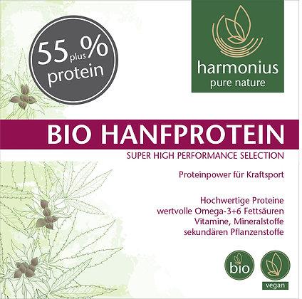 Hanfprotein 55% plus Bio 500 g