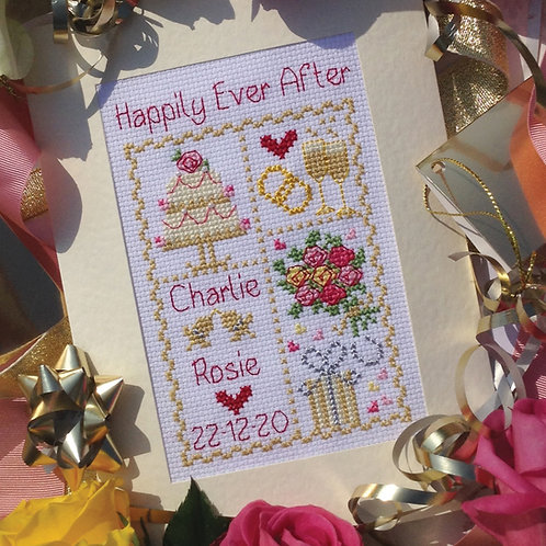 C212 Happily Ever After Wedding Card