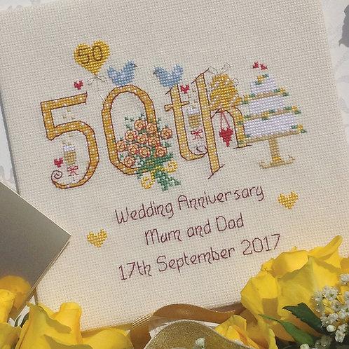 C186  50th Wedding Anniversary