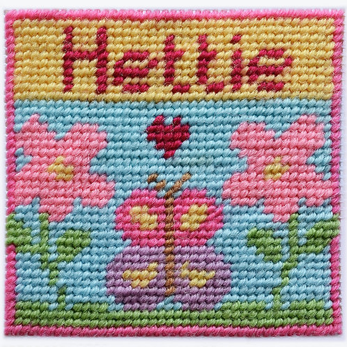 N03 Butterfly Garden First Needlepoint