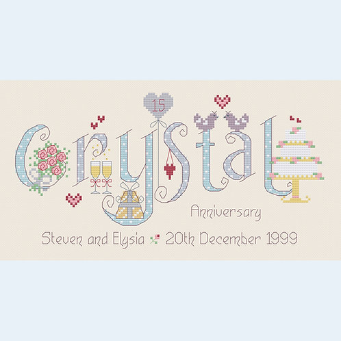 C134 Crystal Anniversary