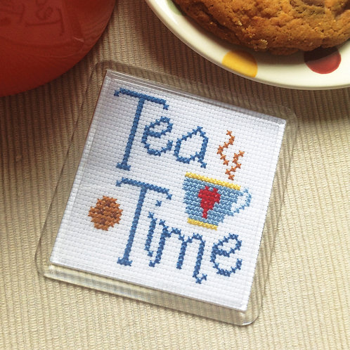 C194 Tea Time Coaster
