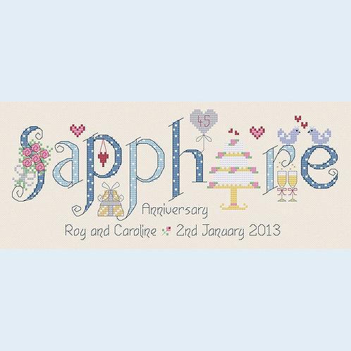 C122 Sapphire Anniversary