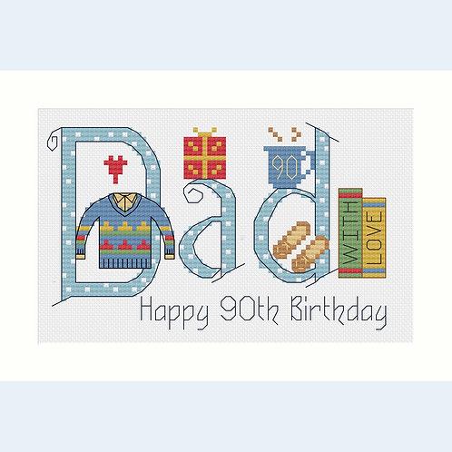 C160 Dad Birthday Card