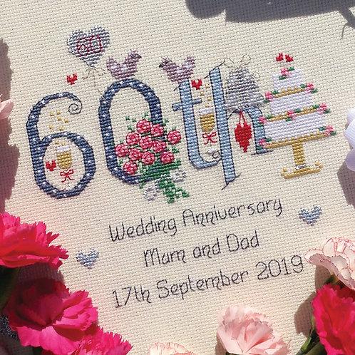 C195  60th Wedding Anniversary