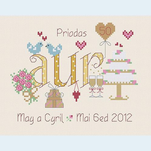 C108 Priodas Aur