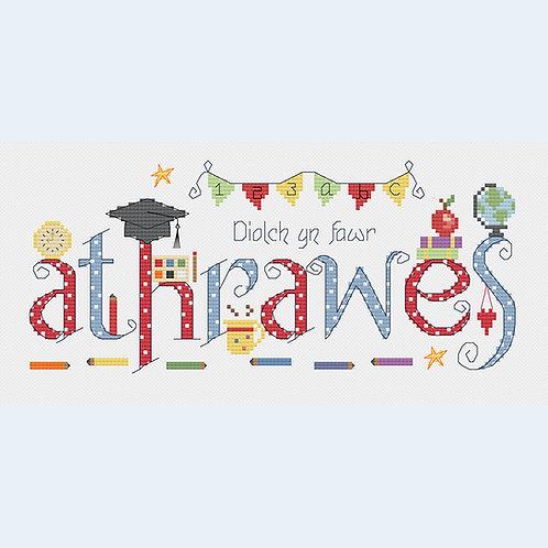 C128W Diolch Athrawes