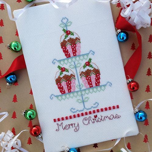 C090 Christmas Cupcakes