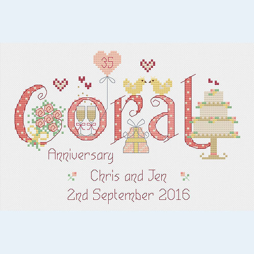 C184 Coral Anniversary
