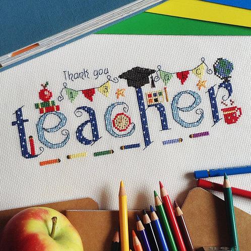 C128E Thank You Teacher