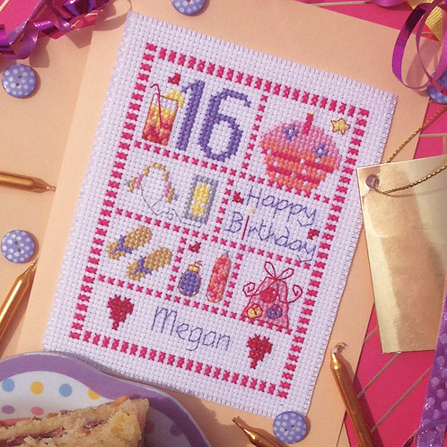 C211 Young Female Birthday Card
