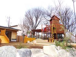 美園おひさま保育園:園庭