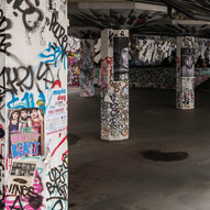 Underground Graffiti by Barry Wright