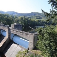 Pitlochry Dam by Jan McNeil