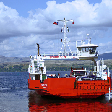 Dunoon Ferry by J McNeil