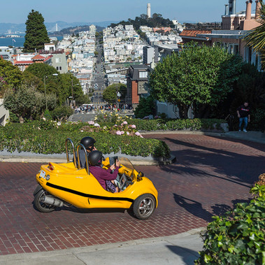 Lombard Street by Barry Wright