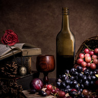 Wine Time by Angela Hill
