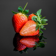 Strawberries by Angela Hill
