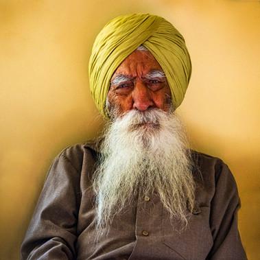 Sikh Elder by Susannah Smith
