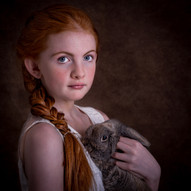 Bunny Cuddles by A.Hill 3rd=